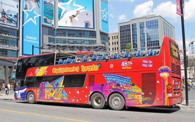 CN Tower Bus Tour Car Rental Service